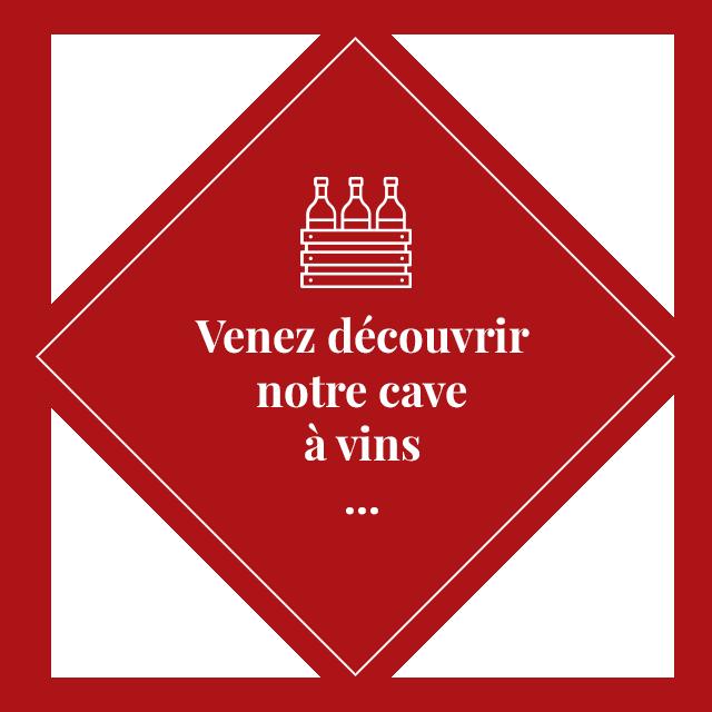Venez découvrir notre cave à vins